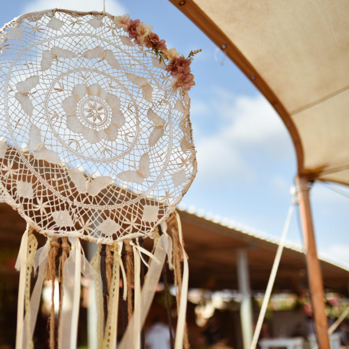 חתונה במדבר - מרפסת בטבע