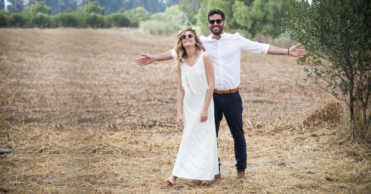 לוקיינים לחתונה בטבע - מרפסת בטבע