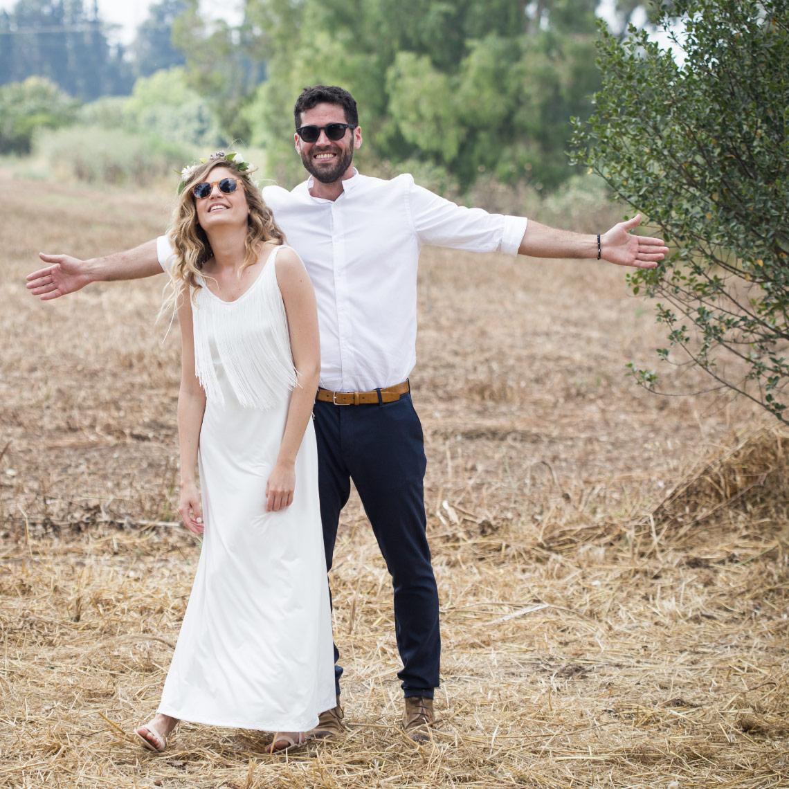 חתונה בפרדס - מרפסת בטבע