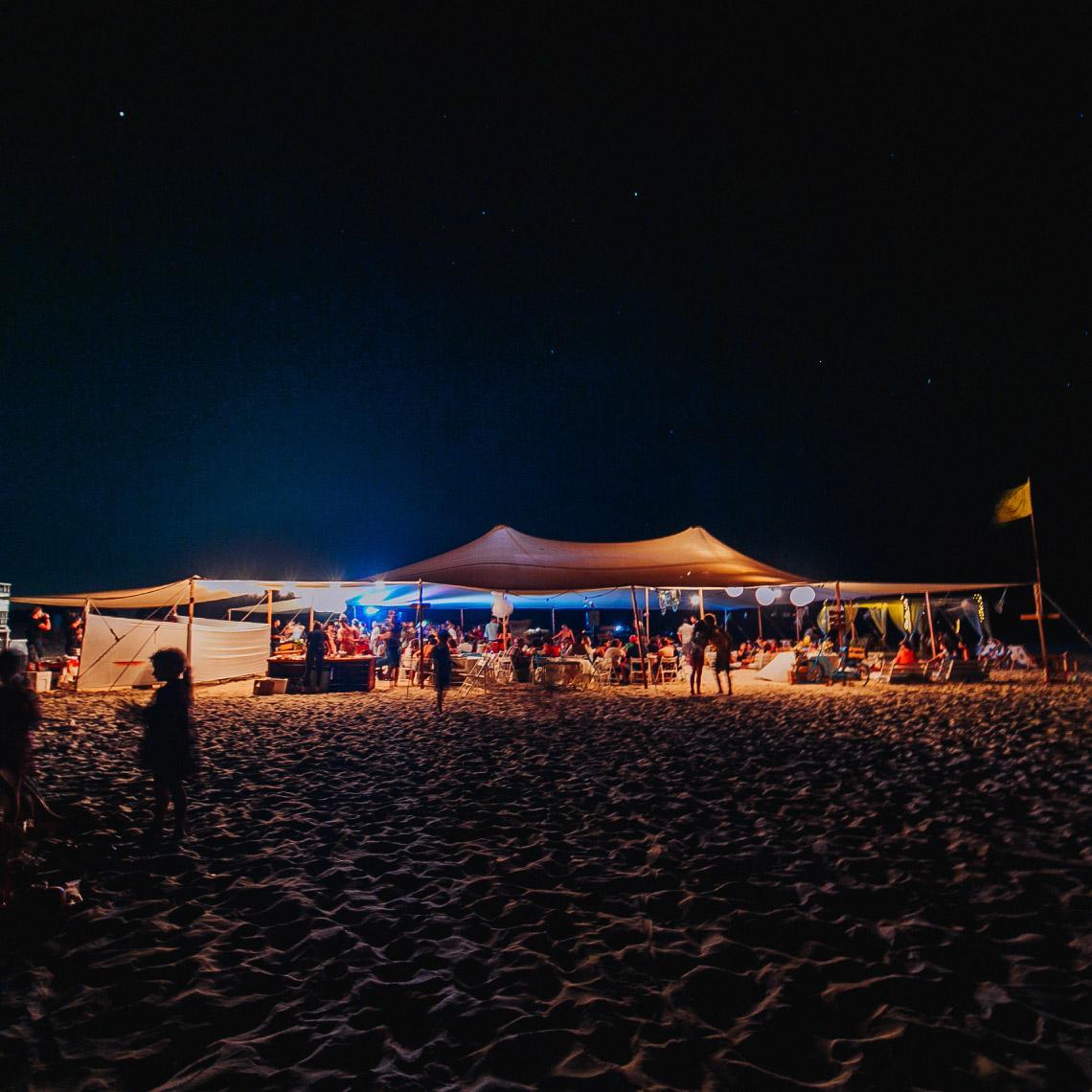 יום גיבוש וכיף על החוף - מרפסת בטבע