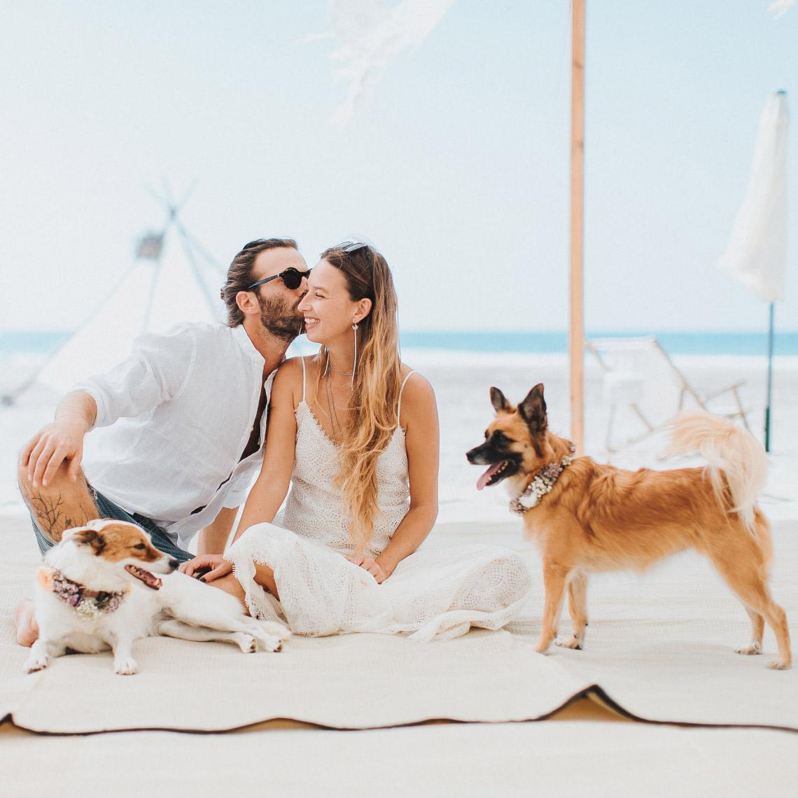 חתונה בים - מרפסת בטבע